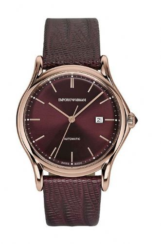 EMPORIO ARMANI Swiss Made Automatic Gold Gents Watch ARS3018